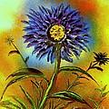 Purple Petals by Greg Moores
