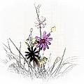 Purple Petals by Regina Arnold