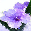 Purple Petunia by Anthony Fishburne