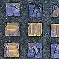 Purple Prism Glass In A Square by Elizabeth Rose