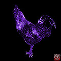 Purple Rooster 3186 F by James Ahn