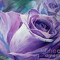 Purple Rose by Iryna Razhkova