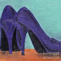 Purple Shoes by Laurel Best