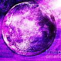 Purple Side Of The Moon by Mindy Bench