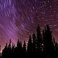 ...purple Sky by Cory Huchkowski