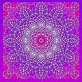 Purple Space Flower by Hanza Turgul