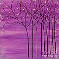 Purple Spring by Lee Owenby