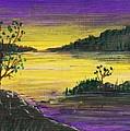 Purple Sunset by Anastasiya Malakhova