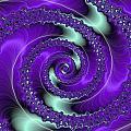 Purple Vortex by Paul Sale Vern Hoffman