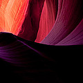 Purple Waves In Antelope Canyon by Gregory Ballos