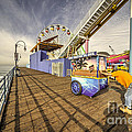 Pushing On The Pier by Rob Hawkins