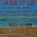 Put On Your Flip Flops by Patti Schermerhorn