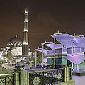 Putra Mosque At Night by Jit Lim