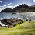 Putting Green In Paradise by Douglas Barnard