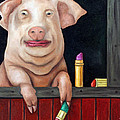 Putting Lipstick On A Pig by Leah Saulnier The Painting Maniac