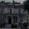 Puyallup Wa Victorian Mansion by Cathy Anderson