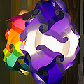 Puzzle Lamp by Kenneth Albin