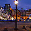 Pyramid At A Museum, Louvre Pyramid by Panoramic Images