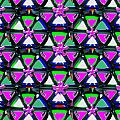 Pyramid Dome Triangle Purple Elegant Digital Graphic Signature   Art  Navinjoshi  Artist Created Ima by Navin Joshi