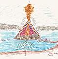Pyramid Lake - Nevada by Mark David Gerson