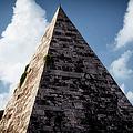 Pyramid Of Rome by Joan Carroll