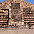Pyramid Of The Moon Panorama by Sean Griffin