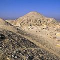 Pyramid Of Unas. 2375 -2345 Bc. Egypt by Everett