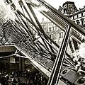 Pyramid. Paris. by Oleg Koryagin