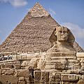 Pyramids And Sphinx In Egypt by Sophie McAulay