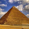 Pyramids Of Giza 28 by Antony McAulay