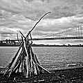 Pyre At The Bridge by Mark Miller