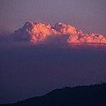 Pyrocumulus At Sunset by Mick Anderson