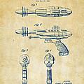 Pyrotomic Disintegrator Pistol Patent Vintage by Nikki Marie Smith