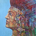 Qu-say-u Anasazi Warrior by J W Kelly