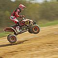 Quad Racer Jumping by Jaroslav Frank