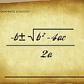 Quadratic Equation - Aged by Paulette B Wright