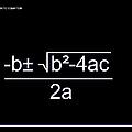 Quadratic Equation W-b by Paulette B Wright