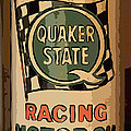 Quaker State Oil Can by Carrie Cranwill