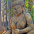 Quan Yin Statue by Charlene Mitchell