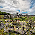 Quarry Cottages by Adrian Evans