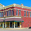 Quartzsite Building Built In 1884 In Pipestone-minnesota by Ruth Hager