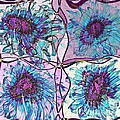 Quatro Floral - 11ac04 by Variance Collections
