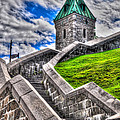 Quebec City Fortress Gates by Bianca Nadeau