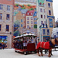 Quebec City Holiday by Jacqueline M Lewis