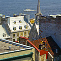 Quebec Lower Town by Bob Phillips