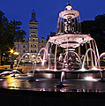 Quebec Parlementaire And Fontaine De Tourny by Juergen Roth