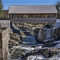 Quechee Covered Bridge by John Greim