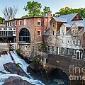 Quechee Village Mill by Susan Cole Kelly