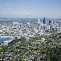 Queen Anne Hill, Lake Union, City by Andrew Buchanan/SLP