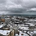 Queen City Winter Wonderland After The Storm Series 0011 by Michael Frank Jr